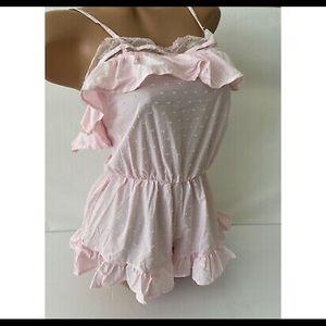 Romper pajamas Victoria's Secret